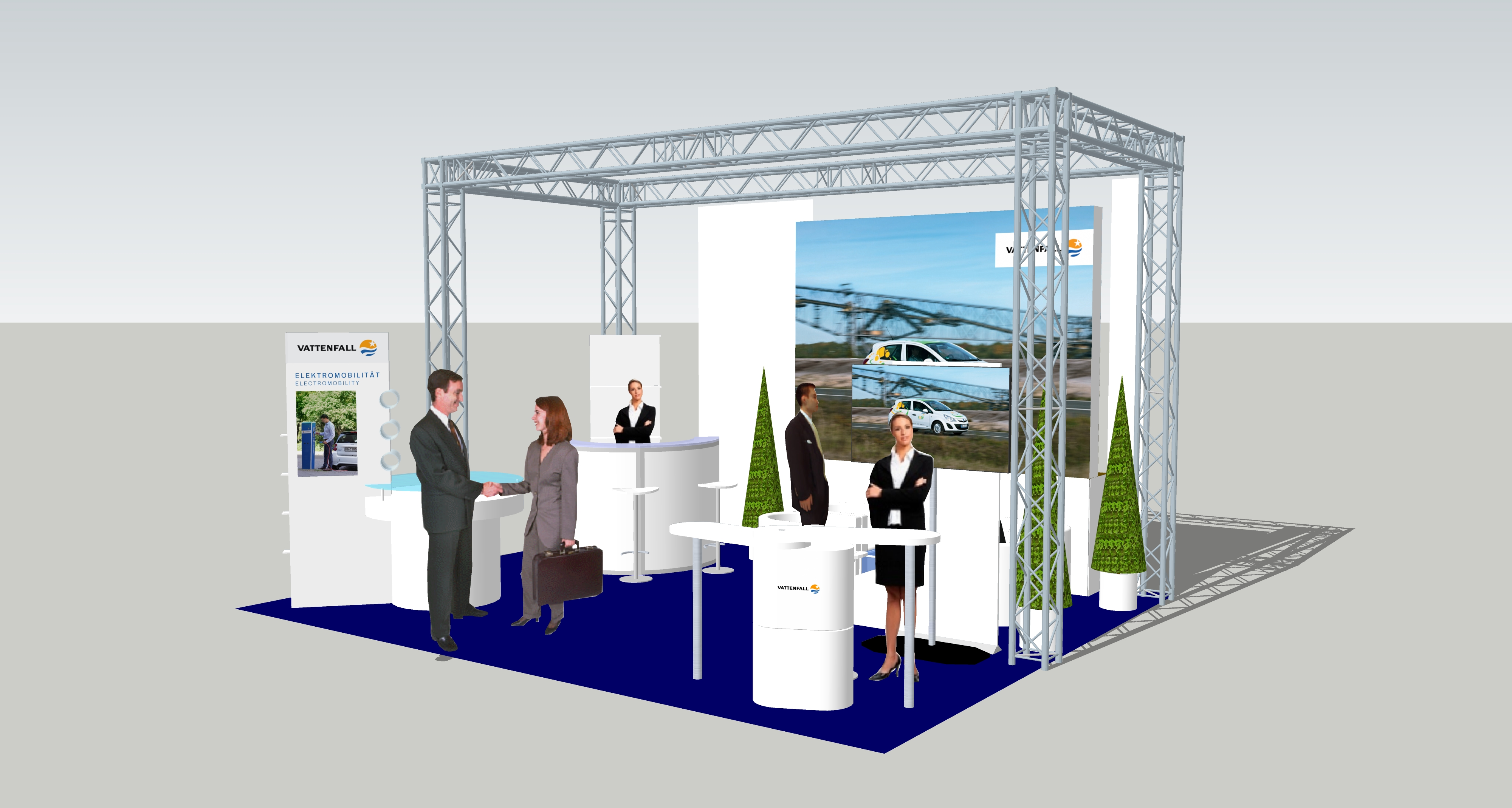 Exhibition Stall Reference : Vattenfall exhibition stalls re evolution